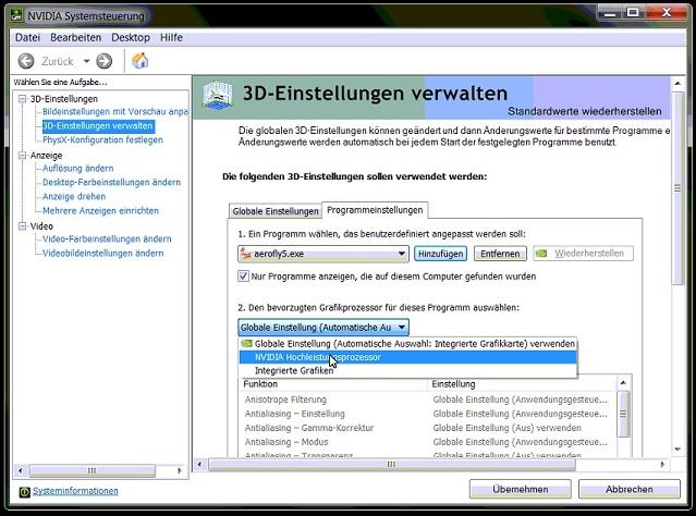 nvidia_systemsteuerung